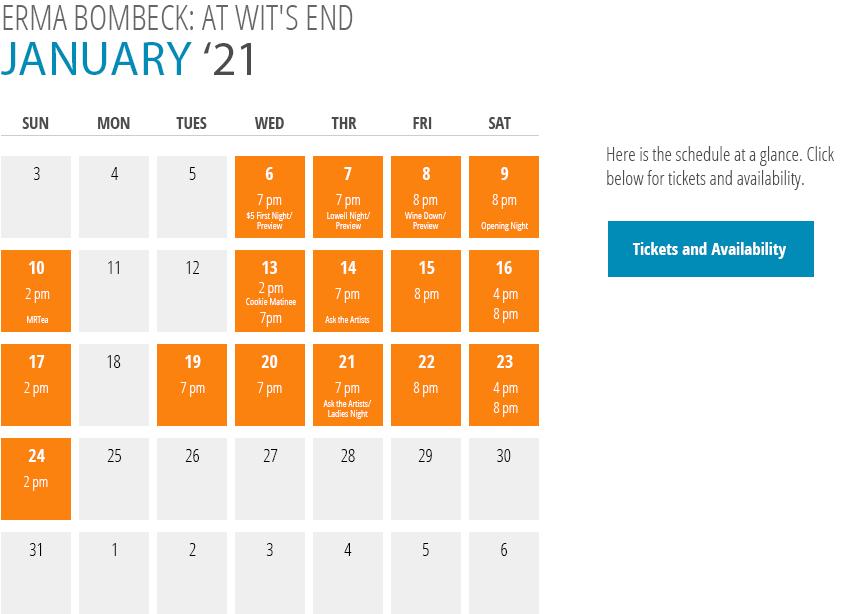 Erma Bombeck: At Wit's End Calendar