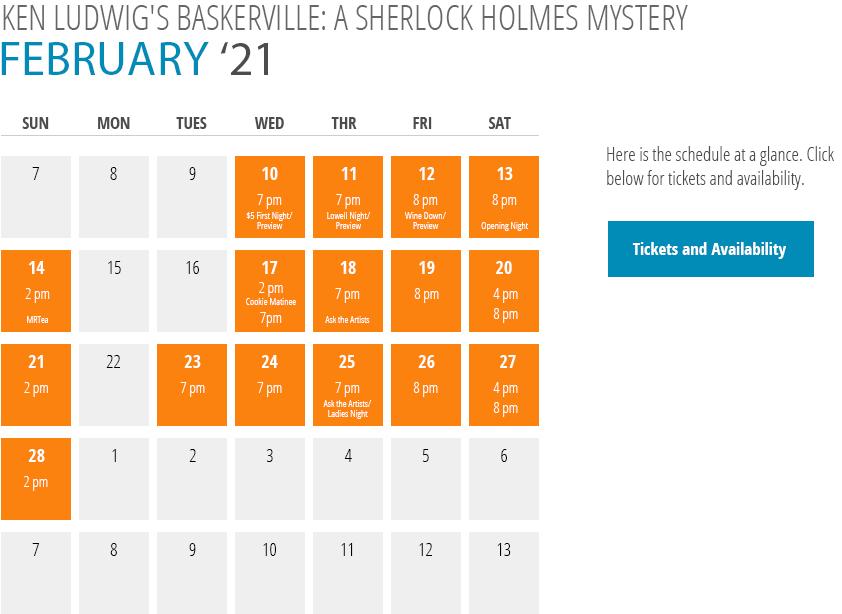 Ken Ludwig's Basketville: A Sherlock Holmes Mystery Calendar