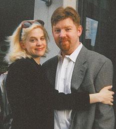 Carolyn Baeumler and husband Doug.